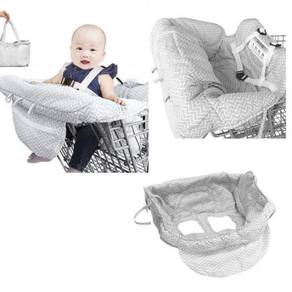 Foldable Baby Shopping Trolley Cart Hygine Cover