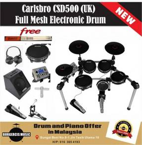 Carlsbro CSD500 (UK) Electronic Drum (80W Amp)