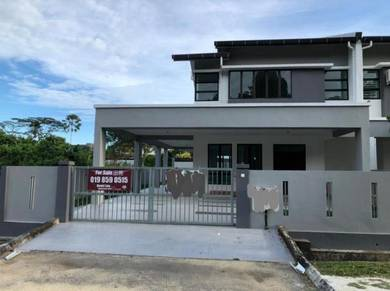 Brand new double storey semi detached house with OP for sale