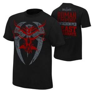 Roman Reign Empire vs Brock Lesnar Shirt Baju