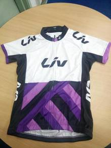 2017 LIV Raceday short sleeves cycling Jersey