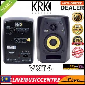 KRK VXT4 4-Inch 2-Way Active Studio Monitor, (VXT)