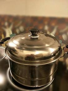 28cm Soup pot with Steam tray