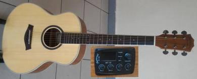 Mentreel Semi Acoustic Guitar Small 36 Inch M2E