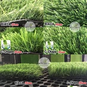 Artificial Grass / Rumput Tiruan Serat C-Shape 14