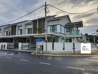 Corner Double Storey Fully Furnish Save RM100K REBATE 10% At Sg Soi