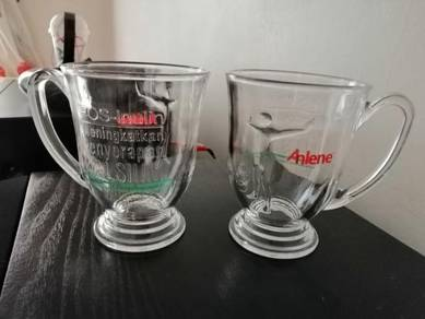 Anlene Collectible Glassware x 4