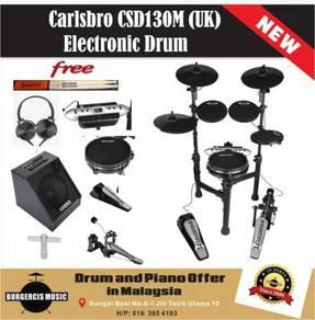 Carlsbro CSD130M (UK) Electronic Drum-80W Drum Amp