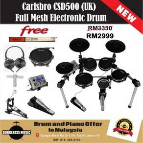 Carlsbro CSD500 (UK) FullMesh Electronic Drum