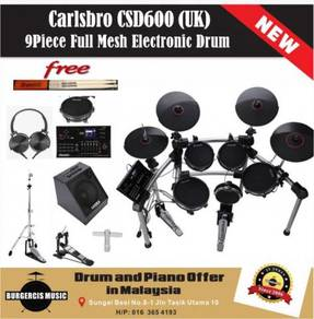 Carlsbro CSD600 (UK) Electronic Drum-80W Drum Amp
