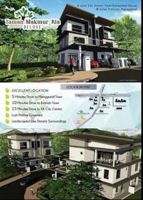Taman Makmur Ria Deluxe, 2 1/2 Storey Semi Detached House