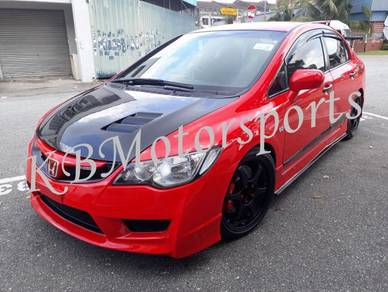 Honda Civic FD charge speed side diffuser Lip