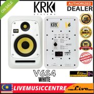 KRK V6S4 6 Inch Studio Monitor Speaker,- Each