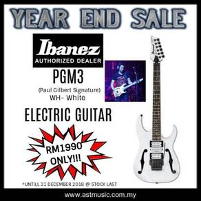 Ibanez PGM3 (PAUL GILBERT SIGNATURE) WH-WHITE