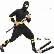 Japan Ninja cosplay suit costume stage show