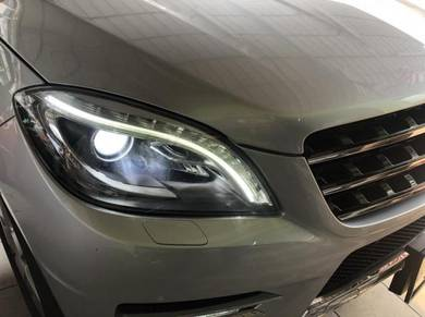 Mercedes benz upgrade daylight drl for japan spec