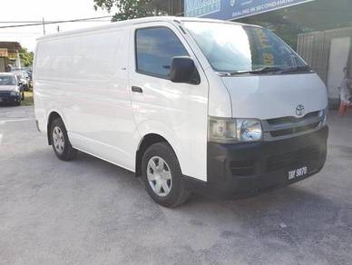 2010 Toyota HIACE 2.5 FACELIFT (M)OneOwner Turbo