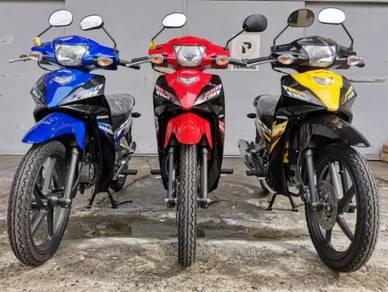 Honda Wave Alpha 110 Sport Rim (Zero Deposit Now )