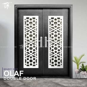 Olaf Double Security Door Zone 1