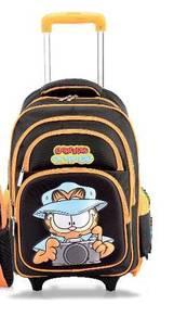 Garfield on the go school trolley bag/beg sekolah