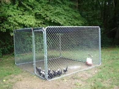 HGU Economical Dog Cage 10ft