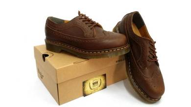 Dr martens 5 eye vintage brown original
