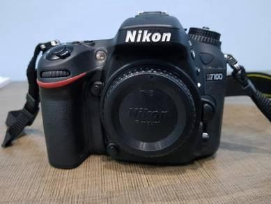 Nikon D7100 complete set