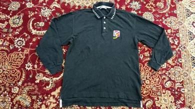 Kansai sport polos shirt size m long sleeve