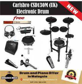 Carlsbro CSD130M(UK)Electronic Drum-Bluetooth Amp