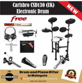 Carlsbro CSD130 (UK) Electronic Drum-Practice Amp)