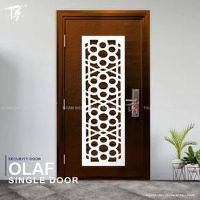 Olaf Single Security Door Zone 2