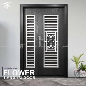 Flower 1 & 1/2 Security Door Zone 1