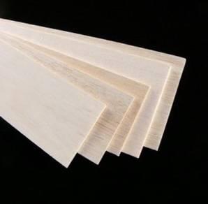 Balsa Sheet 500mm x 300mm x 2mm