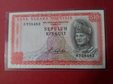 Duit Lama RM10 siri 4
