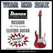 Ibanez RG550XH RSP-RED SPARKLE ELECTRIC GUITAR