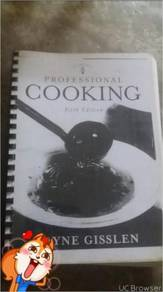 Profesional cooking/the book of ingerdient