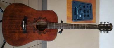 Mentreel Semi Acoustic Guitar 41 Inch 520ME SOLID