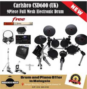 Carlsbro CSD600 (UK) Electronic Drum-Bluetooth Amp