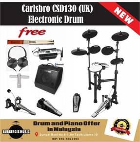 Carlsbro CSD130 (UK) Electronic Drum-Bluetooth Amp