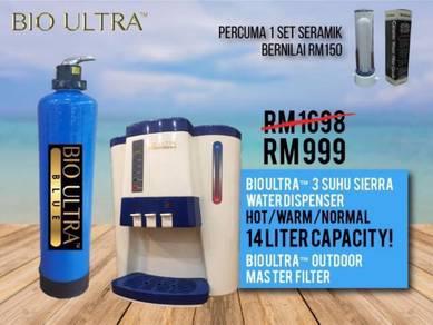 Pakej Bio Ultra Penapis Air dan Master Filter MK3