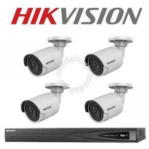 HIK Vision 4Ch CCTV Set 1080p 2.0MP 2 Years Warran