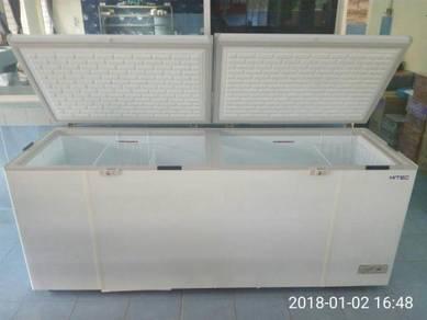 Ready Stock-Freezer White Besar 750L- (Two Door)