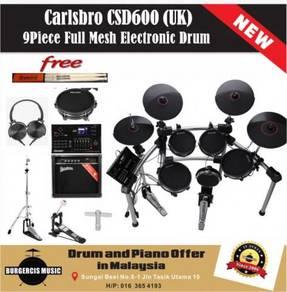 Carlsbro CSD600 (UK) Electronic Drum-Practice Amp