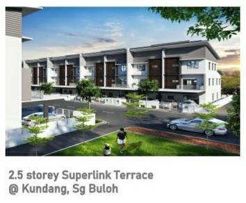 Sungai buloh, kundang new landed house for sale