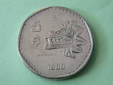 Mexican Coin - 5 (1980)