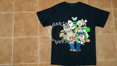 Baju Mario Bros (L) free pos
