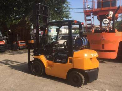Direct Imported JAPAN TOYOTA 2.5 ton 7FG FORKLIFT