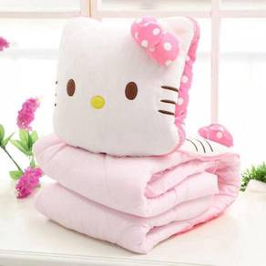 [READY STOCK] Hello Kitty Blanket Pillow (2in1)
