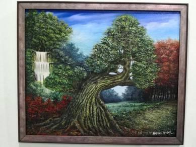 Oil painting murah