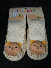 Baby Shoe (Cartoon/Yellow)